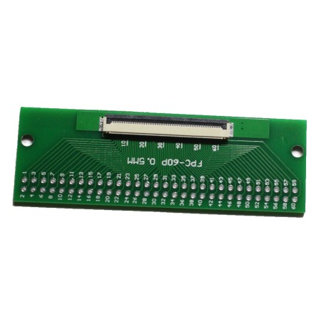 FPC/FFC 0.5mm 60-pin to DIP adapter