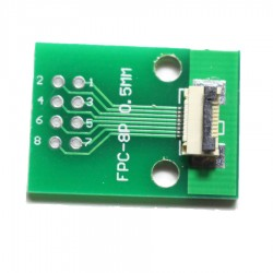 FPC/FFC 0.5mm 8-pin to DIP adapter
