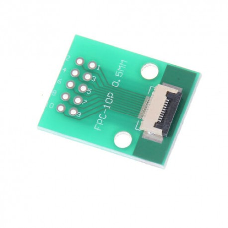 FPC/FFC 0.5mm 10-pin to DIP adapter