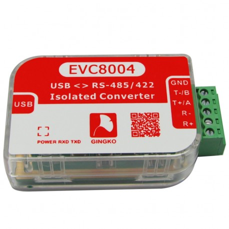 EVC8004 - Isolated USB - RS485/RS422 converter