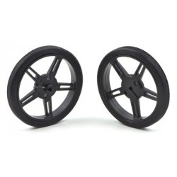 Pololu 1420 - Pololu Wheel 60x8mm Pair - Black