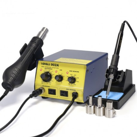YIHUA 902A - 2in1 soldering station Hotair + soldering iron