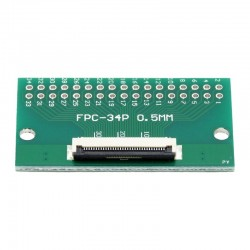 FPC/FFC 0.5mm 34-pin to DIP adapter