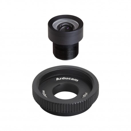 M2306ZM13 - 50° lens 1/2.3″ M12 with adapter for Raspberry Pi HQ camera