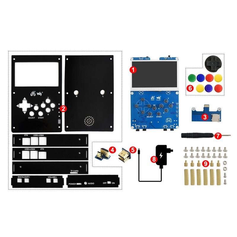 CS2308ZM05 - Obiektyw 8mm CS-Mount do kamery Raspberry Pi HQ