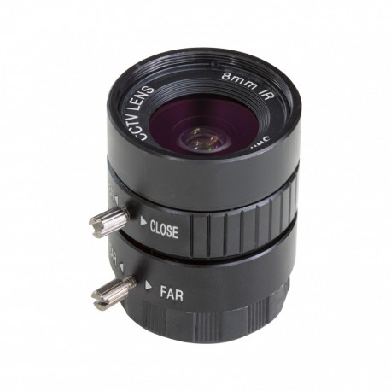 CS2008ZM05A - 8mm CS-Mount lens for Raspberry Pi HQ camera