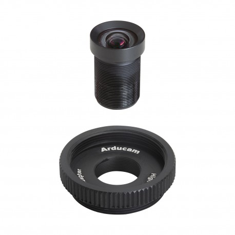 M23430M14 - 70 1/2.3 ″ M12 lens with adapter for Raspberry Pi HQ camera