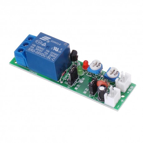 5V relay module with timer