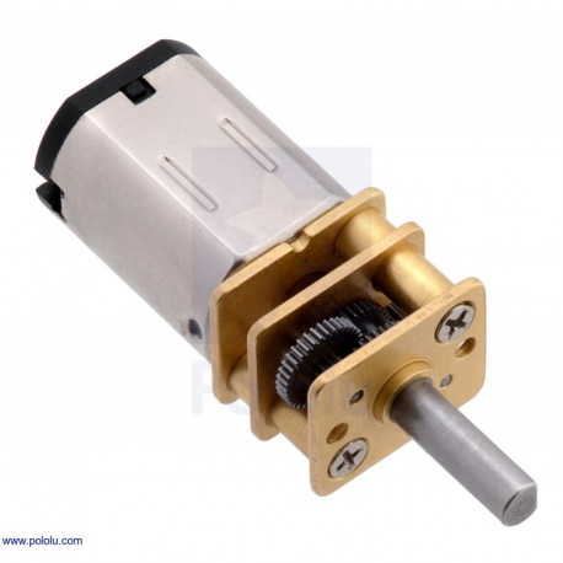 15:1 6V MP - miniaturowy silnik z przekładnią