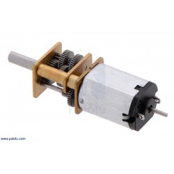 Pololu 2373 - 1000:1 Micro Metal Gearmotor HP 6V with Extended Motor Shaft