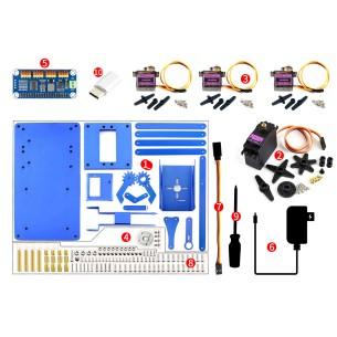 30:1 12V HPCB - miniaturowy silnik z przekładnią i obustronnym wałem