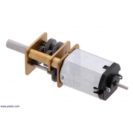 1000:1 6V LP - Micro Metal Gearmotor with Extended Motor Shaft