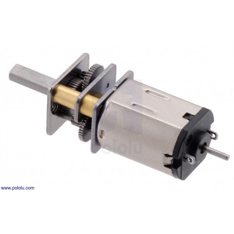 380:1 6V LP - Micro Metal Gearmotor with Extended Motor Shaft