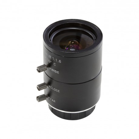 C2004ZM12 - 4-12mm C-Mount lens with C-CS adapter for Raspberry Pi HQ camera