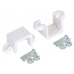 Bracket for Pololu Micro Metal Gearmotor (White) 2 pcs.