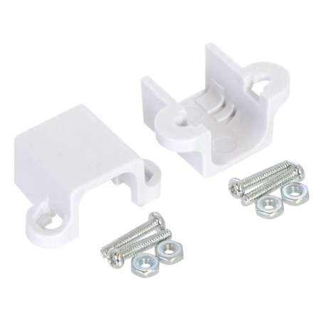 Extended Bracket for Pololu Micro Metal Gearmotor (White) 2 pcs.
