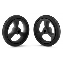 Pololu 32x7mm wheels (black)