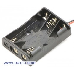 Pololu 1144 - 3-AAA Battery Holder