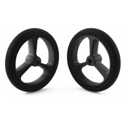 Pololu 40x7mm wheels (black)