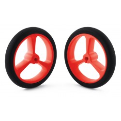 Pololu 40x7mm wheels (red)