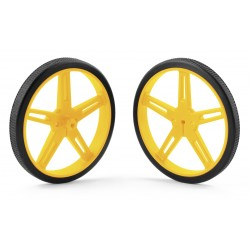 Pololu wheels 70x8mm (yellow)