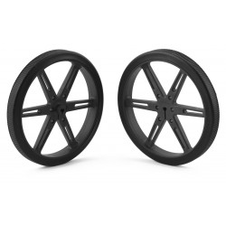 Pololu wheels 80x10mm (black)
