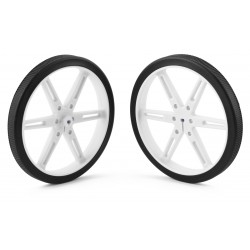 Pololu wheels 80x10mm (white)