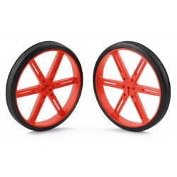 Pololu wheels 90x10mm (red)