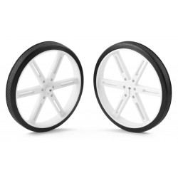 Pololu wheels 90x10mm (white)