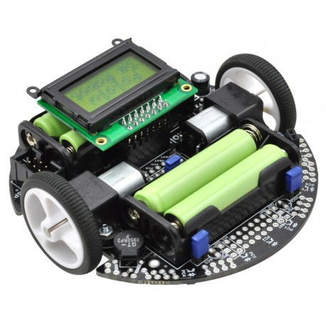 Pololu 3pi robot - Line Follower robot with ATmega328P microcontroller