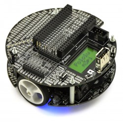 Pololu m3pi Robot - Line Follower robot with ATmega328P microcontroller and mbed socket