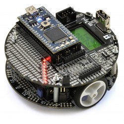 Pololu m3pi Robot - Line Follower robot with ATmega328P microcontroller and mbed NXP LPC1768 module