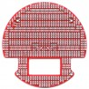 3pi Expansion Kit - Pololu 3pi robot expansion kit (PCB with cutouts) - red