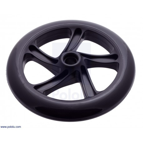 Scooter/Skate Wheel 200×30mm Black