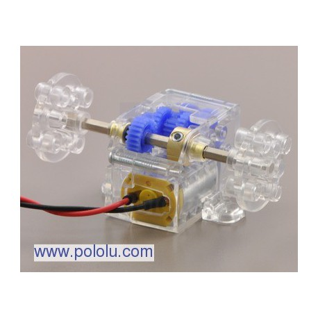 Pololu 1684 - Tamiya 70189 Mini Motor Low-Speed Gearbox (4-Speed) Kit
