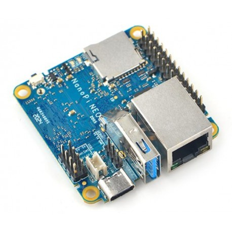 NanoPi NEO3 - minicomputer with RockChip RK3328 processor and 1GB RAM