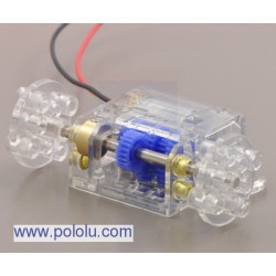 Pololu 1683 - Tamiya 70190 Mini Motor Multi-Ratio Gearbox (12-Speed) Kit
