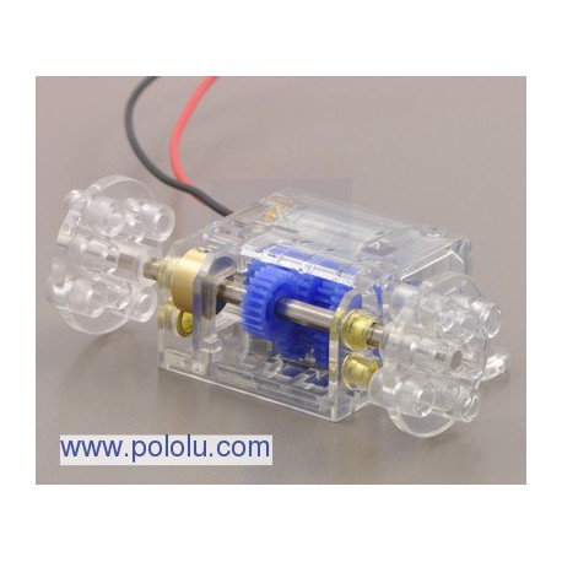 Pololu 1683 - Tamiya 70190 Mini Motor Multi-Ratio Gearbox (12-Speed) Kit