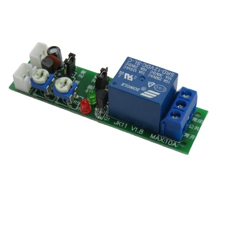 12V relay module with timer