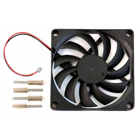 Fan with connector for Odroid N2 minicomputer