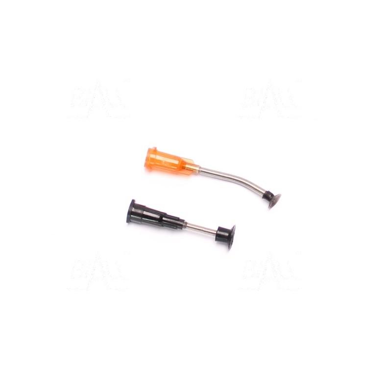 20,4:1 6V LP 25Dx65L - silnik z metalową przekładnią i enkoderem 48 CPR