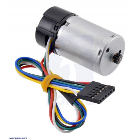 1:1 12V LP 25Dx46L- Motor with 48 CPR Encoder