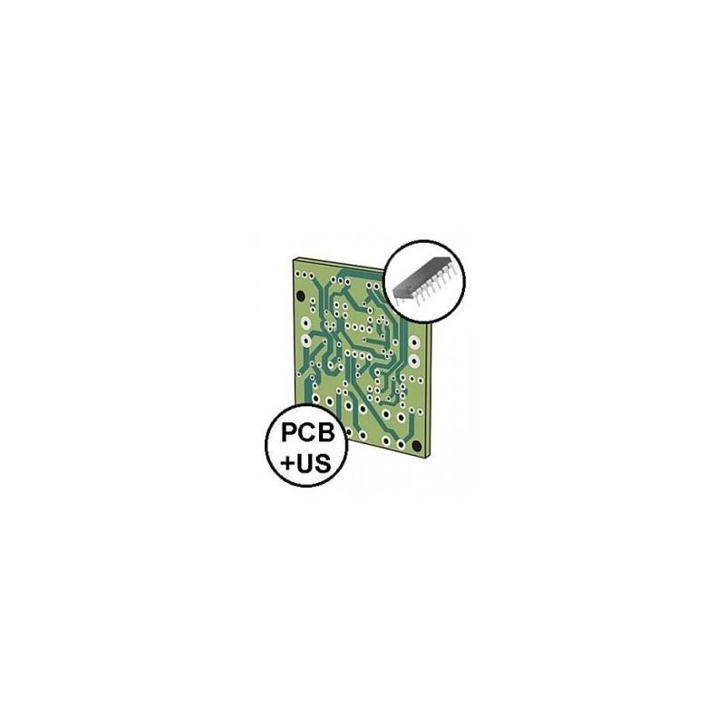 Podwozie Dagu Wild Thumper 6WD, srebrne, 34:1