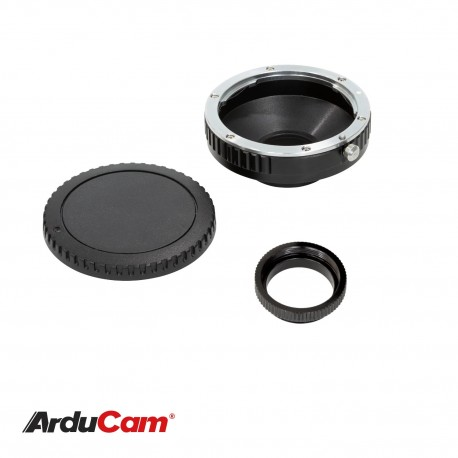 Lens Mount Adapter for Canon EOS Lens to C-Mount Raspberry Pi HQ Camera