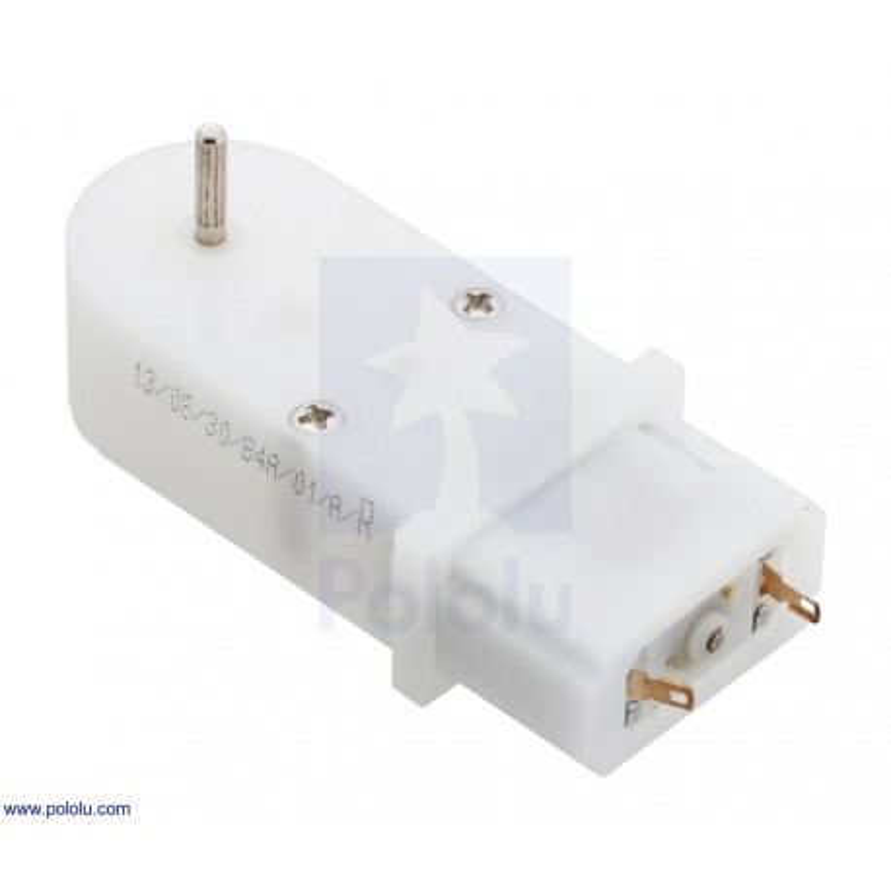 120:1 4,5V - mini plastic gear motor (90° output)
