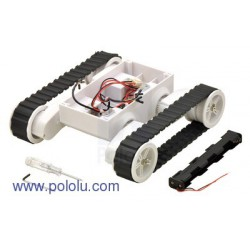 Pololu 1551 - Dagu Rover 5 Tracked Chassis with Encoders