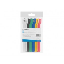 Velcro cable ties 12mm x 15cm 12pcs lanberg