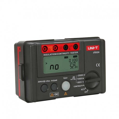 UT502A - Insulation resistance tester by Uni-T