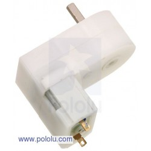 Pololu 1125 - 120:1 Mini Plastic Gearmotor Offset 3mm D-Shaft Output