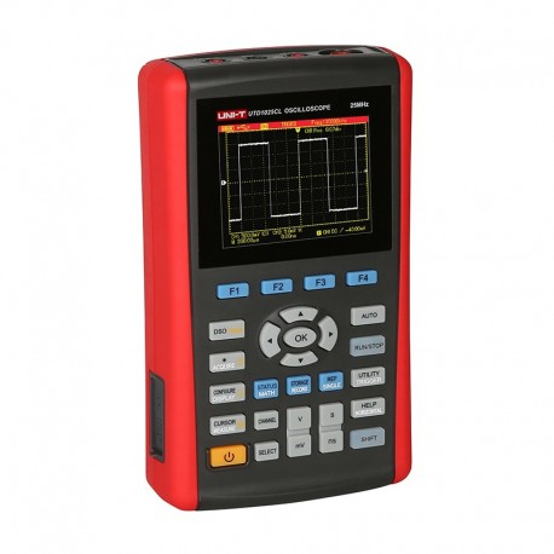 UTD1025CL - Oscilloscope with universal multimeter function Uni-T